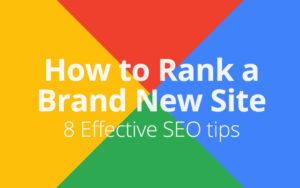rank website of google fast