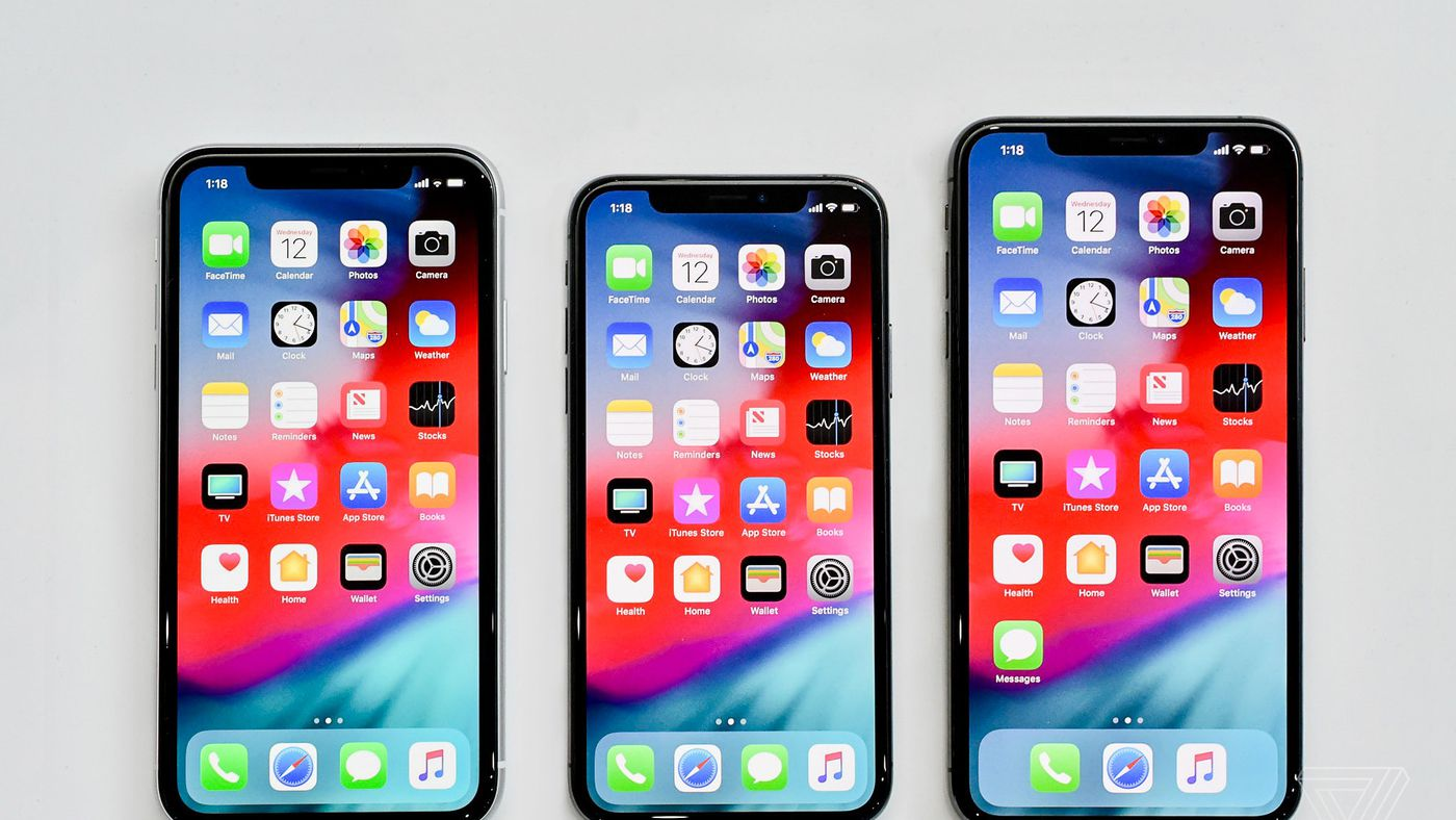 iphone XR screen size