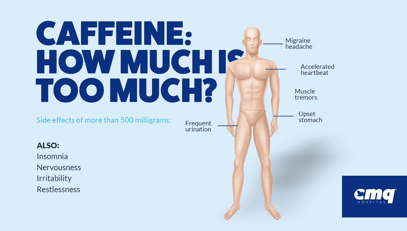 how much caffeine is too much