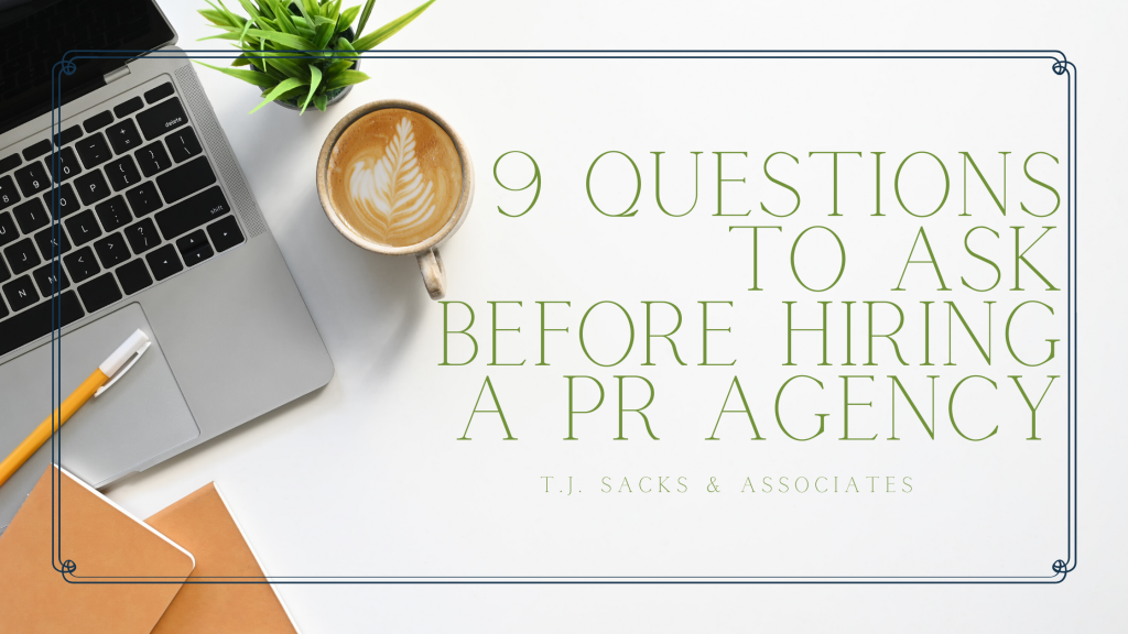 Questions To Ask A PR Agency